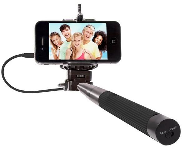 Une canne à selfies