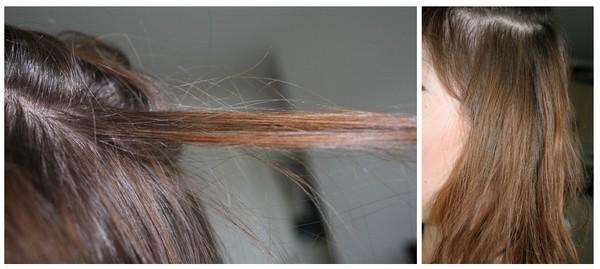 au niveau de la couleur vous constaterez que ce nest pas trop a les cheveux sont ternes ont plein de teintes diffrentes on voit bien les racines - Crme Colorante Logona