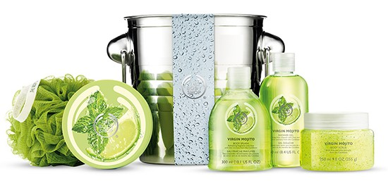 coffret virgin mojito the body shop