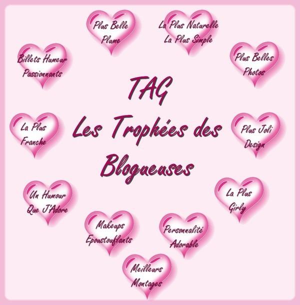 une tag trophées des blogueuses