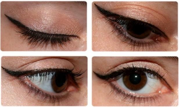 Y'a du mieux mais c'est pas encore ça (surtout pour le liner haha). Article : [Month Make Up Fever #1] Le Eyeliner et moi, amis ou ennemis ?