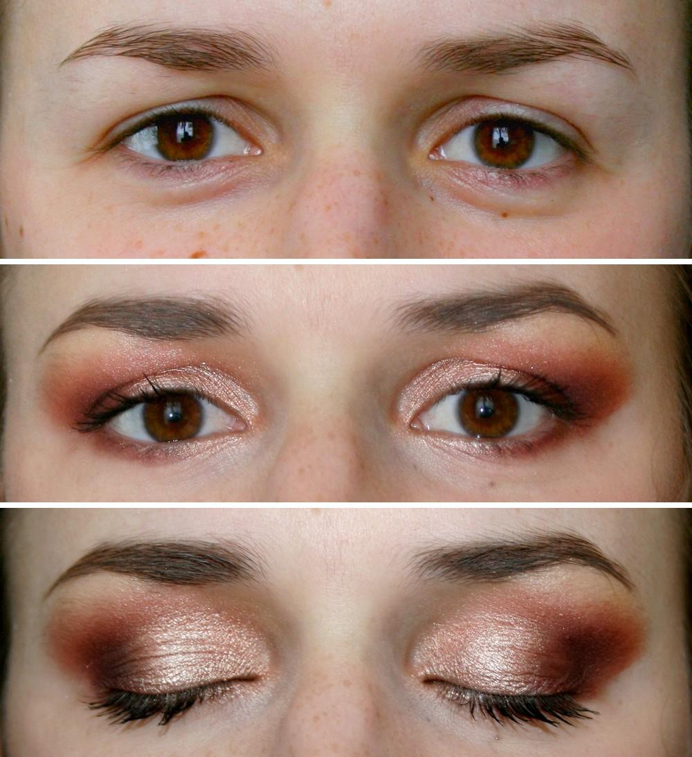Fabuleux Maquillage de soirée pour paupières tombantes | Choup'N'Beauty XR65